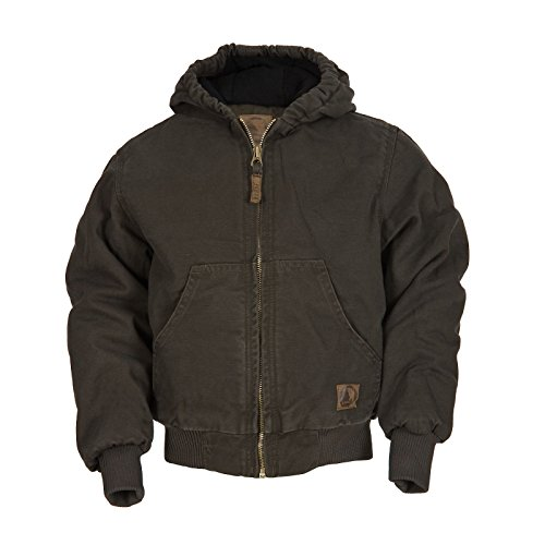 Quilt Lined Hooded Jacket - 5