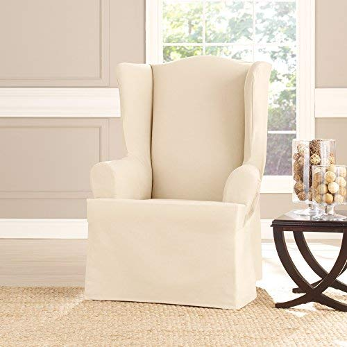 Amazon.com: Sure Fit pato de algodón pesado sillón, color ...