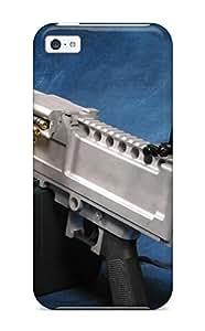 High Grade CharlesRaymondBaylor Flexible Tpu Case For Iphone 5c - Machine Gun