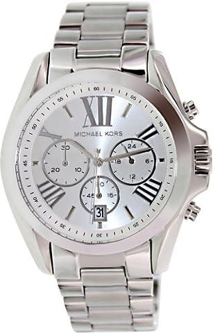 Michael Kors Quartz Silver Dial Men's Watch MK5535 (Michael Kors Bradshaw Watch 43mm)
