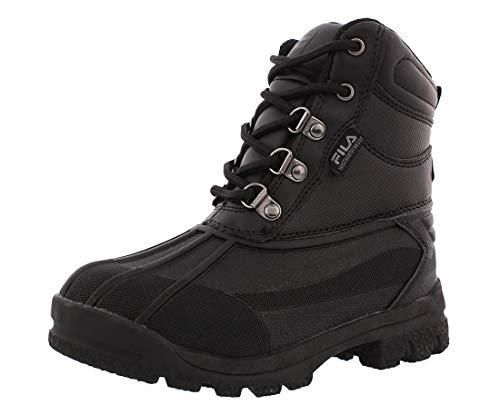 Fila Weathertech Extreme Western Boot Black, 4.5 M US Big Kid (Fila Weather Tech)