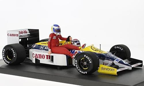 Williams Honda FW11, No.6, formula 1, GP Germany, 1986, Model Car, Ready-made, Minichamps 1:18 -