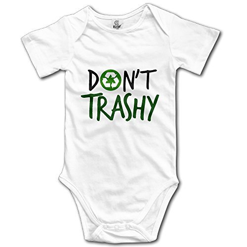 Price comparison product image On't Be Trashy Recycle Funny Baby Onesies BodySuit