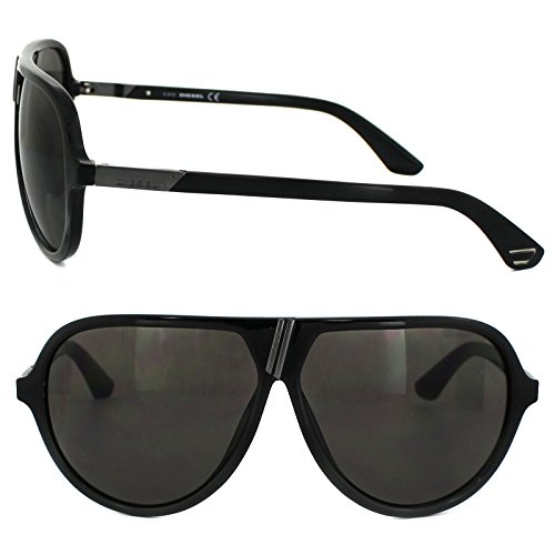Diesel sunglasses DL0042/S 05A Acetate Black - Gun Grey
