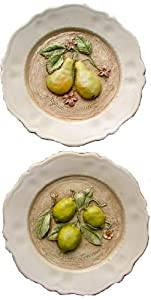 Decorative Wall plates, French Country Kitchen Decor