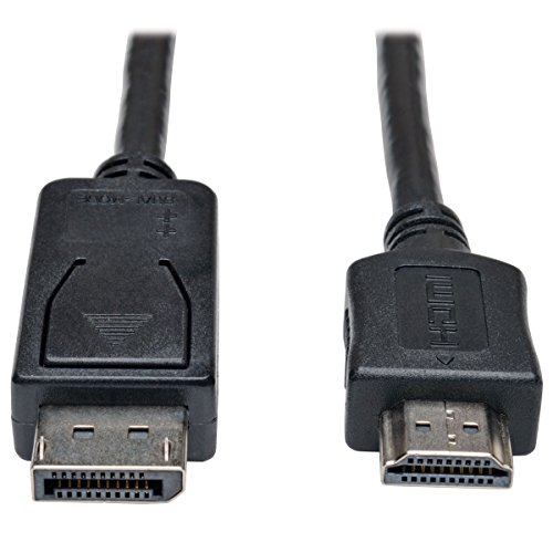 Tripp Lite DisplayPort to HDMI Cable Adapter, DP - Display Port To Hdmi 25