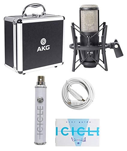 AKG P420 Podcast Podcasting Recording USB Microphone Mic w/Phantom Power
