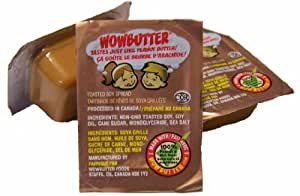WOWBUTTER - (Safe-For-School) - Tastes Just Like Peanut Butter! - Creamy - 200 x 14g