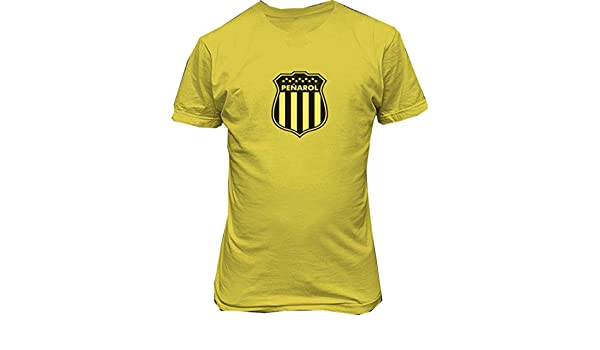 Club Atlético Peñarol T shirt camiseta Uruguay futbol at Amazon Mens Clothing store: