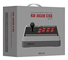 8Bitdo N30 Arcade Stick / Fight Stick for Nintendo Switch, PC, Mac & Android