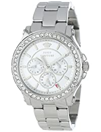 Juicy Couture Women's 1901048 Pedigree Stainless Steel Bracelet Watch
