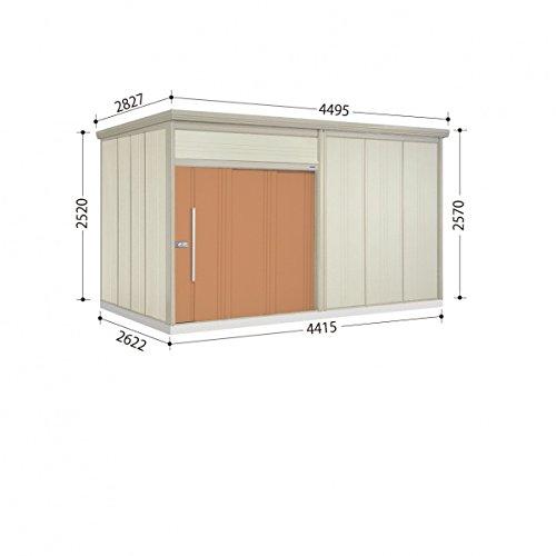 タクボ物置 JN/トールマン JN-4426 一般型 標準屋根 『屋外用中型大型物置』 トロピカルオレンジ B00GQWM0EK