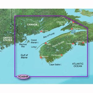 00 Navigation Software (Garmin VCA004R - Bay of Fundy - SD Card)