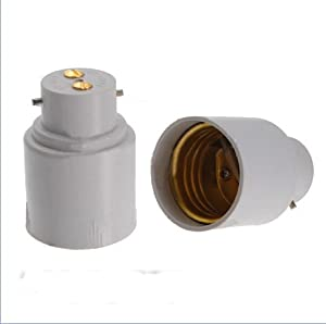 Lamp light socket converter bayonet b22 e27 screw - Casquillos para lamparas ...