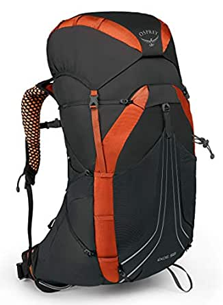 Osprey Packs Exos 58 Backpacking Pack, Blaze Black, Medium