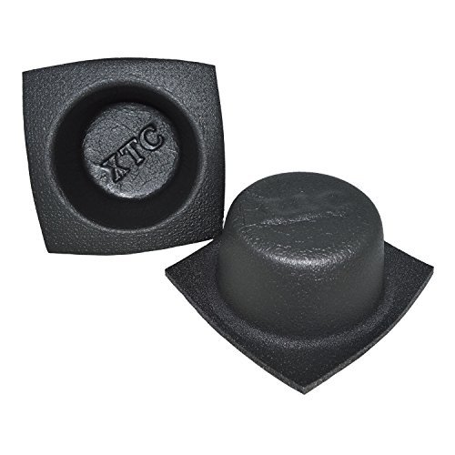 The Install Bay VXT65 XTC 6-1/2'' Round Small Foam Speaker Baffle (pair) by METRA Ltd
