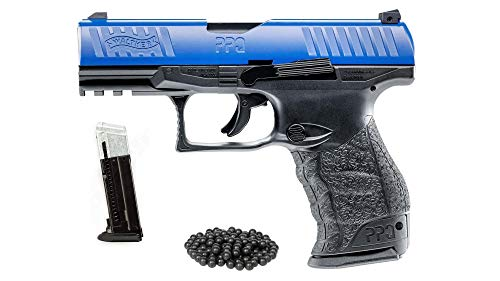 T4E Walther PPQ LE M2 (GEN2) .43cal CO2 Semi Auto Blow Back Paintball Pistol w/Extra Magazine and Free 50 Rubber Balls (Gun Paintball Free)