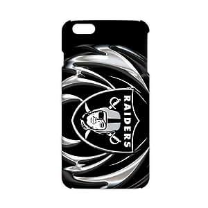 CYOE oakland raiders logo 3D Phone Case for iPhone 6 Plus