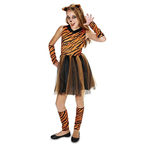 Cool Cat Tigeress Tween Dress Up Costume (5-9) (Outfits For Tweens)