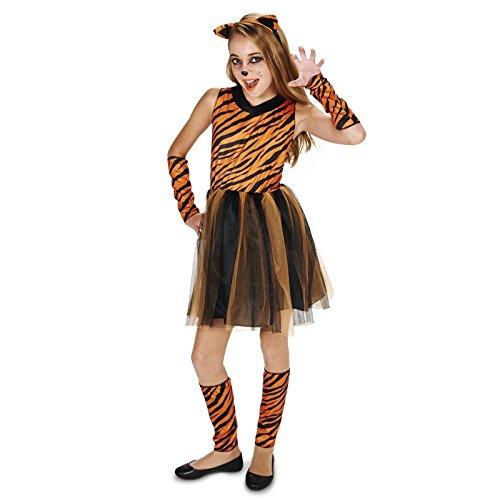 Cool Cat Tigeress Tween Dress Up Costume (0-3) (Tiger Costumes For Kids)