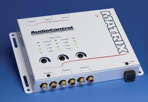 MATRIX (White) - AudioControl 6-Channel Car Audio Line Driver