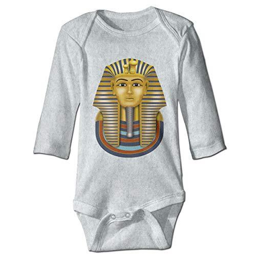 Baby Long Sleeve Bodysuit Egyptian King Tut