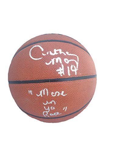 Anthony Mason Autographed Signed Spalding Indoor/Outdoor Basketball JSA W423050