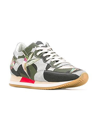Philippe Model Sneakers Donna TBLDBG01 Pelle Verde