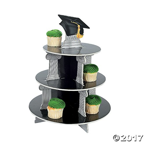 Fun Express SYNCHKG025995 Graduation Cupcake