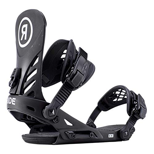 New Ride 2019 EX Mens Olive Large Snowboard Bindings