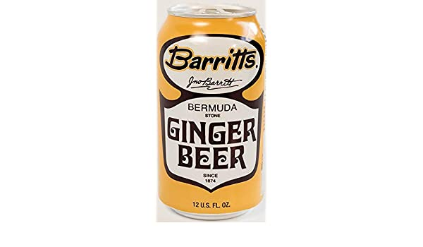 Amazon.com : Barritts Original Ginger Beer, Non-Alcoholic Soda Cocktail Mixer, 12 fl oz Cans, 24 Pack : Grocery & Gourmet Food