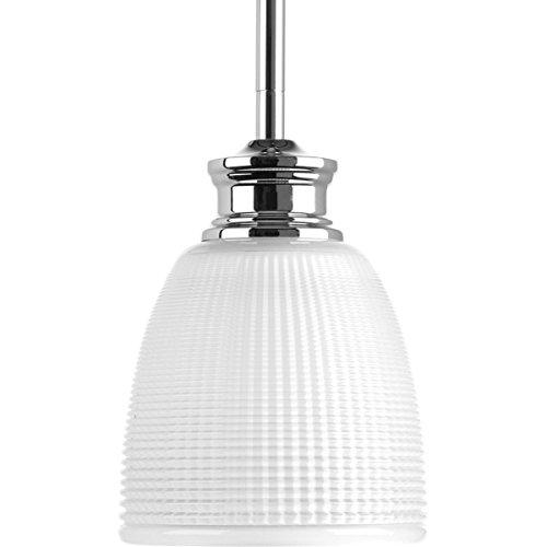 Progress Lighting P5088-15 Traditional/Casual 1-100W Med Mini-Pendant, Polished -