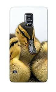 Yellowleaf Faddish Phone Cute Ducklings Case For Galaxy S5 / Perfect Case Cover
