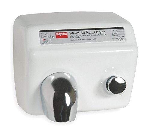 Dayton 5W633 Hand Dryer, 208/230v by Dayton