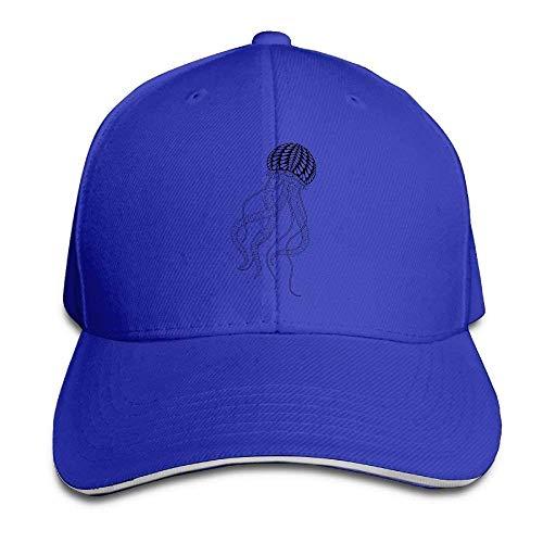 Denim Women Hats Men Sport Cowboy Cowgirl Hat Art Cap Jellyfish Skull Uqn8vZEpw