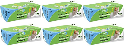 Van Ness DL7 PureNess Extra Giant Drawstring Cat Pan Liner, 6-Count Boxes (Case of 6) Total 36