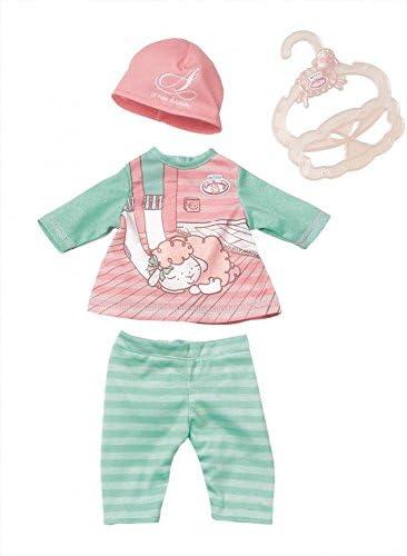 Doll clothes fits 43 cm Baby Born zapf dolls clothes Accessories Cartoon pink ca