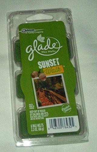 Glade Wax Melts Sunset Walk by S C JOHNSON B017RRJBJY Wachs