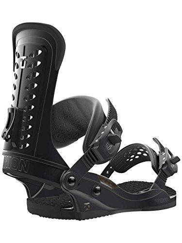Force Snowboard Binding - Union Black Force Snowboard Bindings (M , Black)