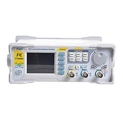 Adoner FY6900-60M DDS Signal Generator Dual-Ch 0.01-100MHz Arbitrary Waveform Pulse