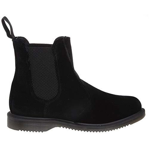 Dr Flora Black Black Boots Martens BzrqBw8Av
