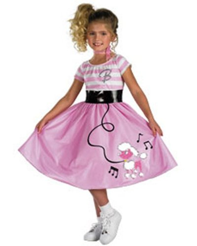 Barbie 50s Sock Hop Costume - Toddler