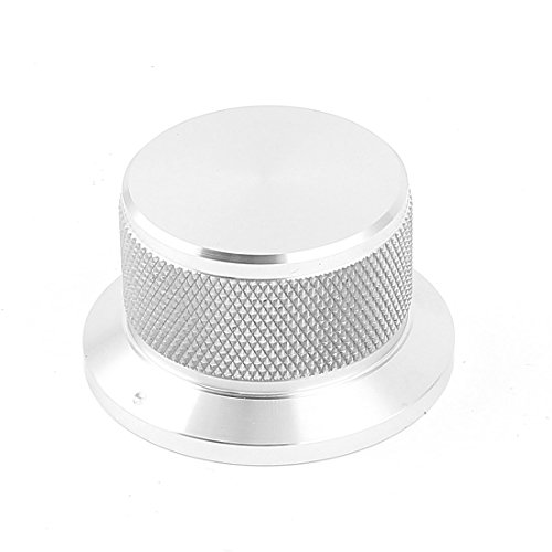 - Uxcell a15020500ux0447 CNC Machined Aluminum Alloy Potentiometer Control Knob, 6 mm Hole, 44 mm