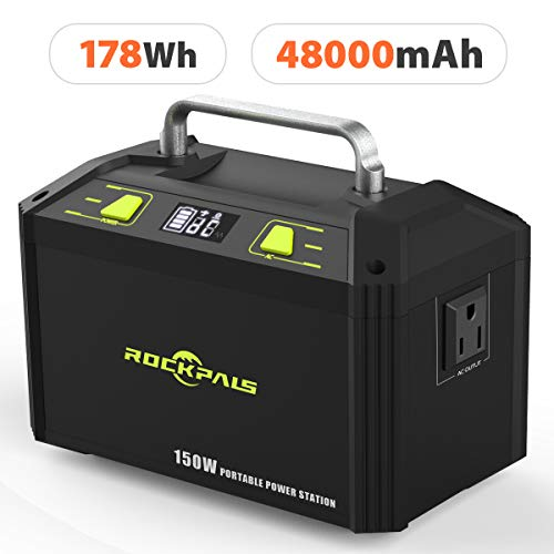 Rockpals 178Wh 48000mAh Portable Generator CPAP Battery