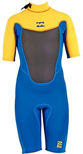 2mm Toddler's Billabong FOIL Shorty Springsuit - Blue, 2 ()