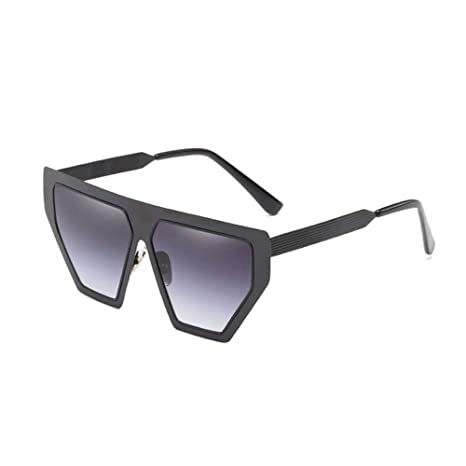 XINGMU Gafas De Sol Mujer Moda Retro Goggle Marco Irregular Sunglase  Gradiente Negro Vestido De Gafas fcdddc4755