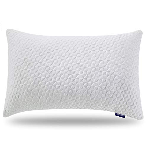 Sweetnight Pillows for Sleeping, adjustable Loft & Neck Pain Relief-Shredded Hypoallergenic Certipur Gel reminiscence polyurethane foam Pillow with the help of completely removable Case,Bed Pillows for Side Back Stomach Sleeper, King Size Black Friday & Cyber Monday 2018