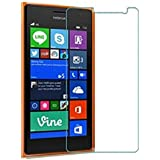 Plus Anti Explosion Premium Tempered Glass , 9H Hardness, 2.5D Curved Edge, Ultra Clear, Anti-Scratch, Bubble Free, Anti-Fingerprints & Oil Stains Coating for Nokia Lumia 730 Dual SIM