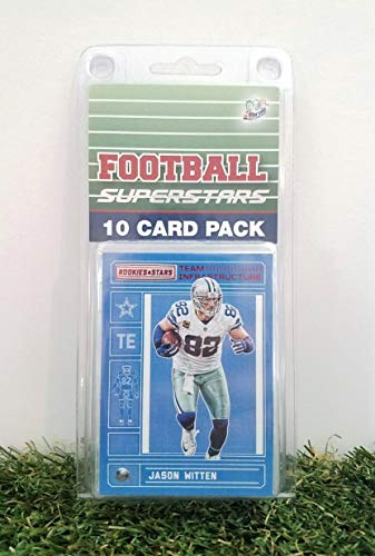 (Jason Witten- (10) Card Pack NFL Football Superstar Jason Witten Starter Kit all Different cards. Comes in Custom Souvenir Case! Perfect for the Witten fan! by 3bros)
