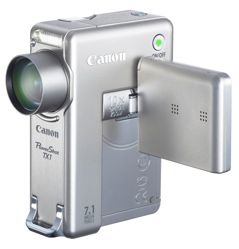Canon PowerShot TX1 7.1MP Digital Camera with 10x Optical Im
